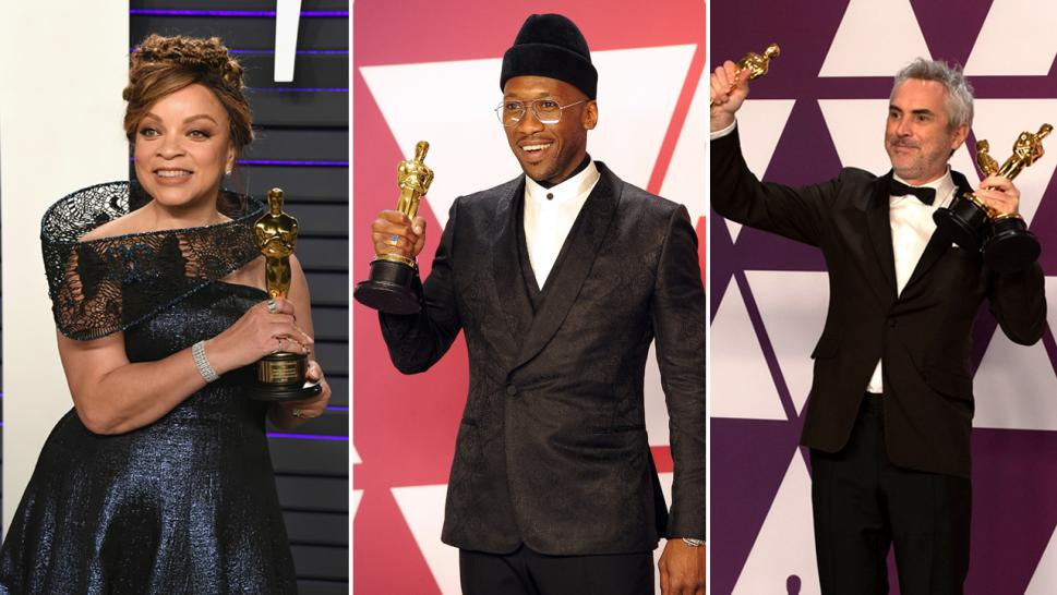 History makers at the 2019 Oscars included Mahershala Ali