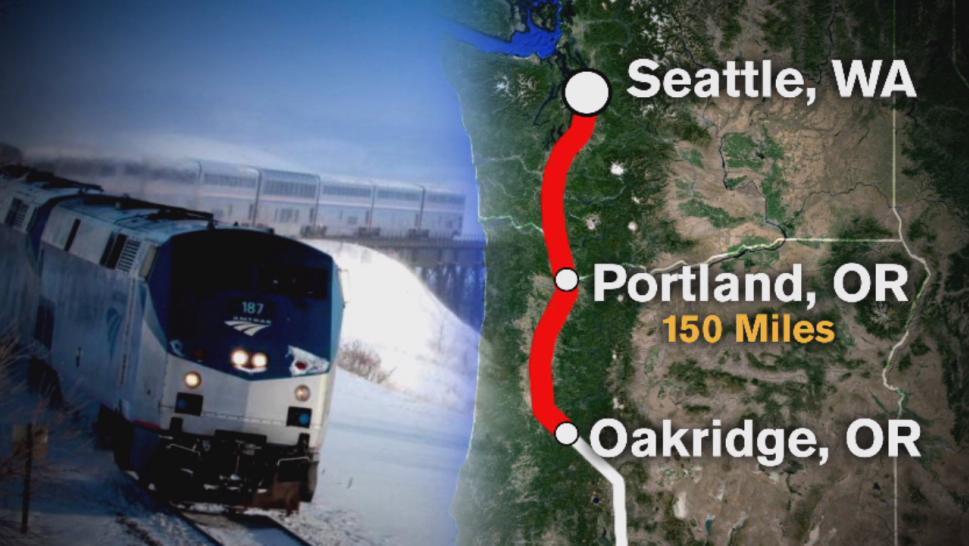 Nearly 200 passengers found themselves stranded inside a stuck Amtrak train for 36 hours from Sunday to Tuesday.