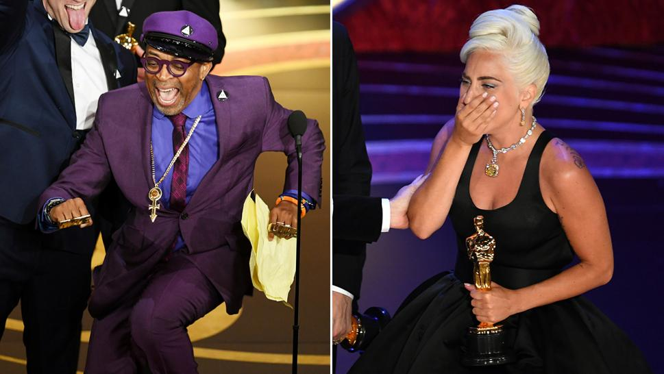 Spike Lee and Lady Gaga won awards at the 2019 Oscars.