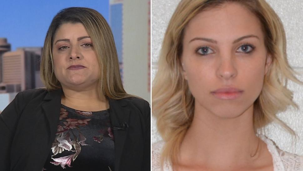 Christina Alvarez (left) worked with Brittany Zamora (right), who's accused of having sex with a student.
