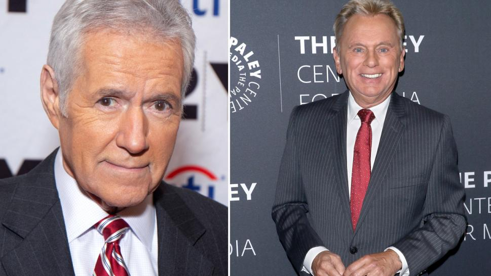 Pat Sajak Offers Alex Trebek Support in Touching Message: We 'Are Pulling for You'