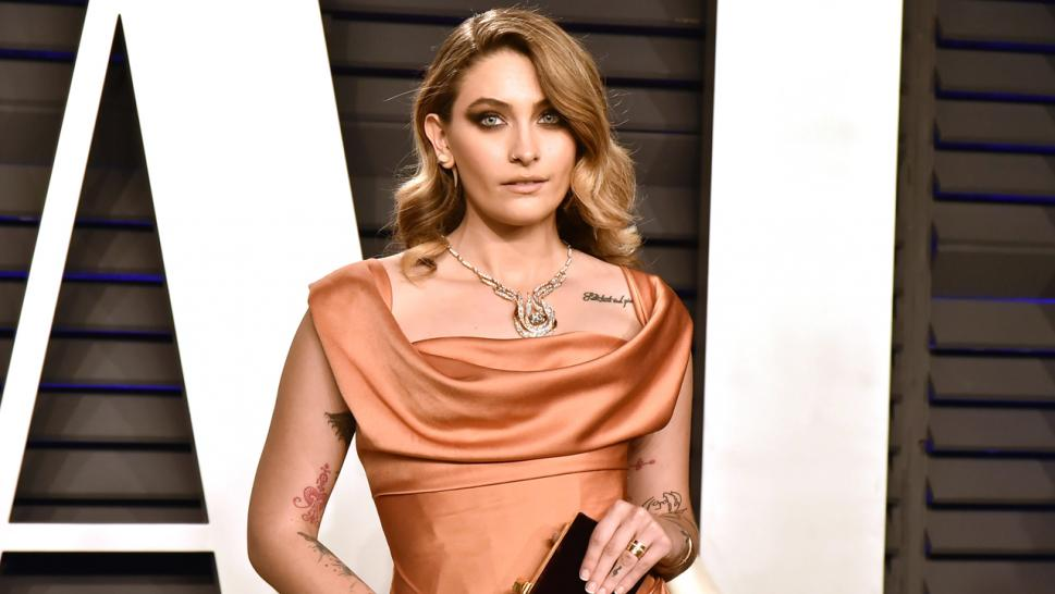 Paris Jackson on the red carpet in February 2019