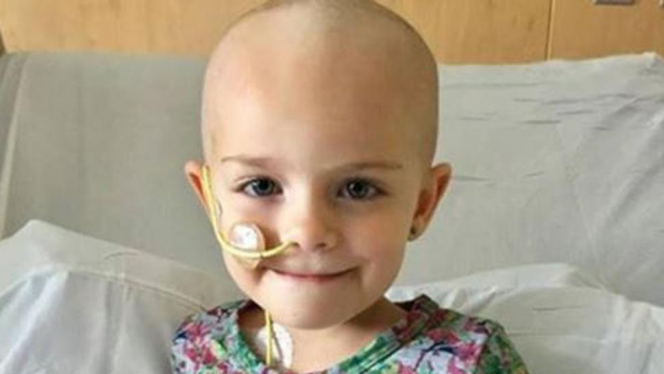 Five-year-old Hunter Rose Jones is participating in a cancer vaccine trial.