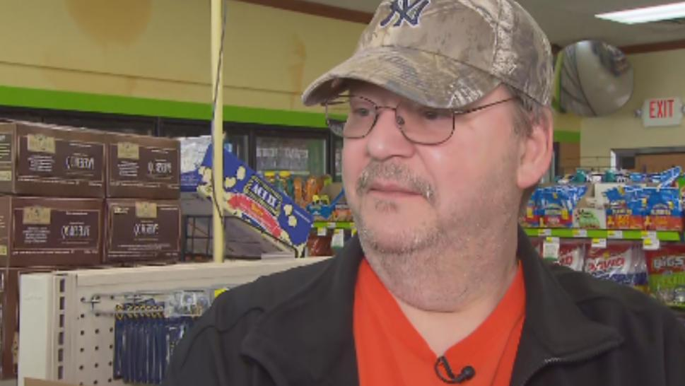 Mike Weirsky won the $273 million Mega Millions lottery jackpot on March 1.