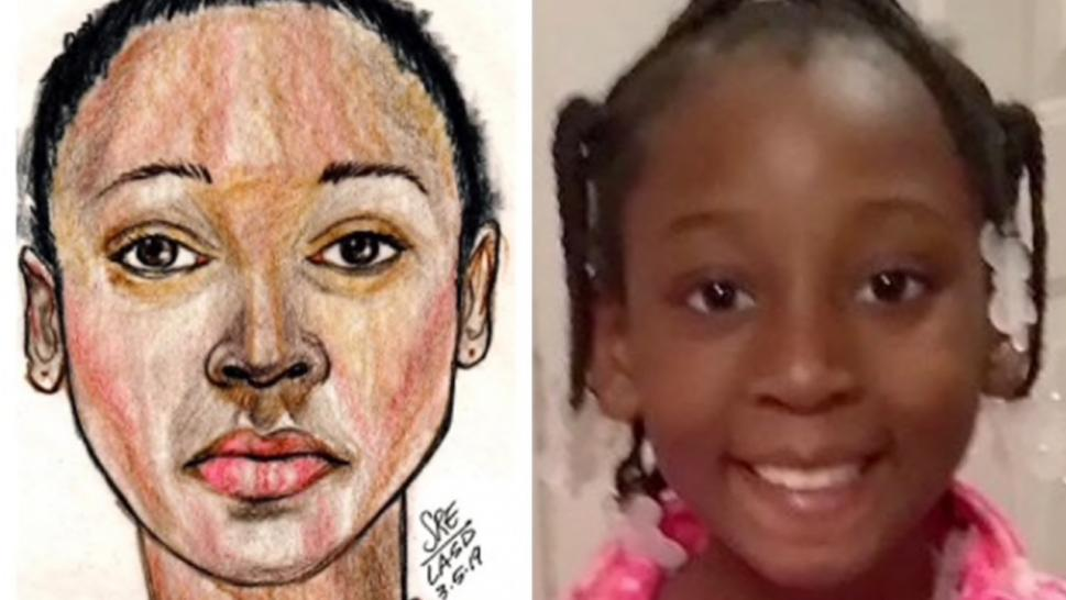The 9-year-old girl has been identified as Trinity Love Jones.