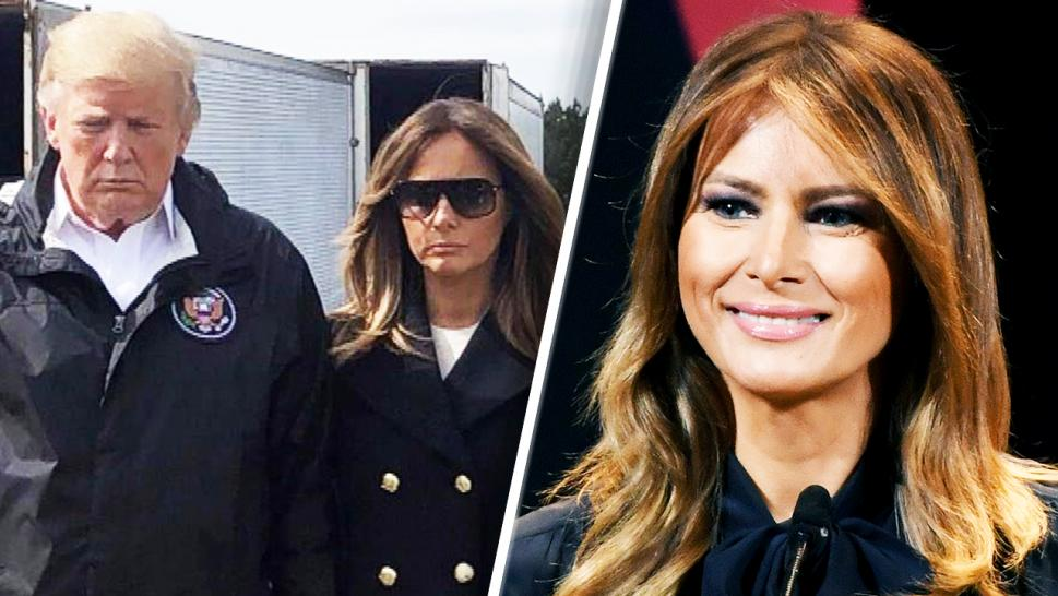 Does Melania have a body double?