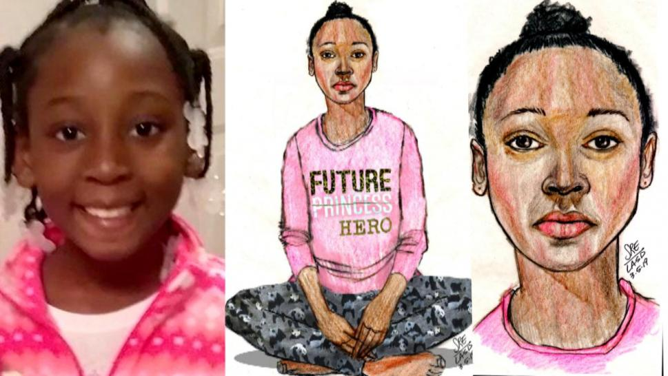 Young girl identified as Trinity Love Jones