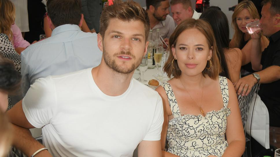 Tanya Burr and Jim Chapman, pictured together, are splitting up.