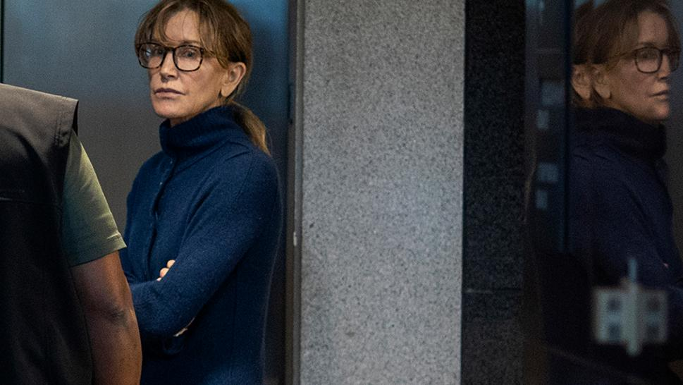 Felicity Huffman is charged in the college admissions scam.