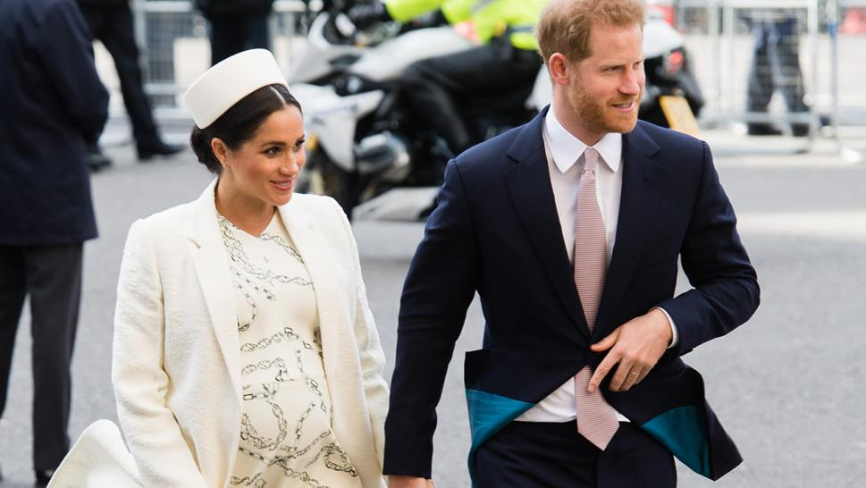 Meghan Markle is spotted with husband Prince Harry at their latest engagement.