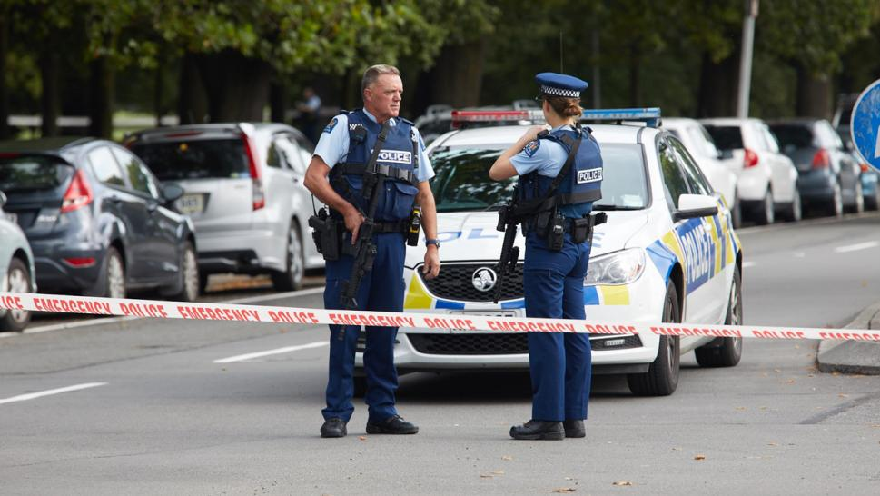 "New Zealand victim says ""Hello Brother"" to gunman."