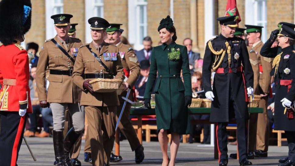 The Duke and Duchess of Cambridge Toast to St. Patrick's Day