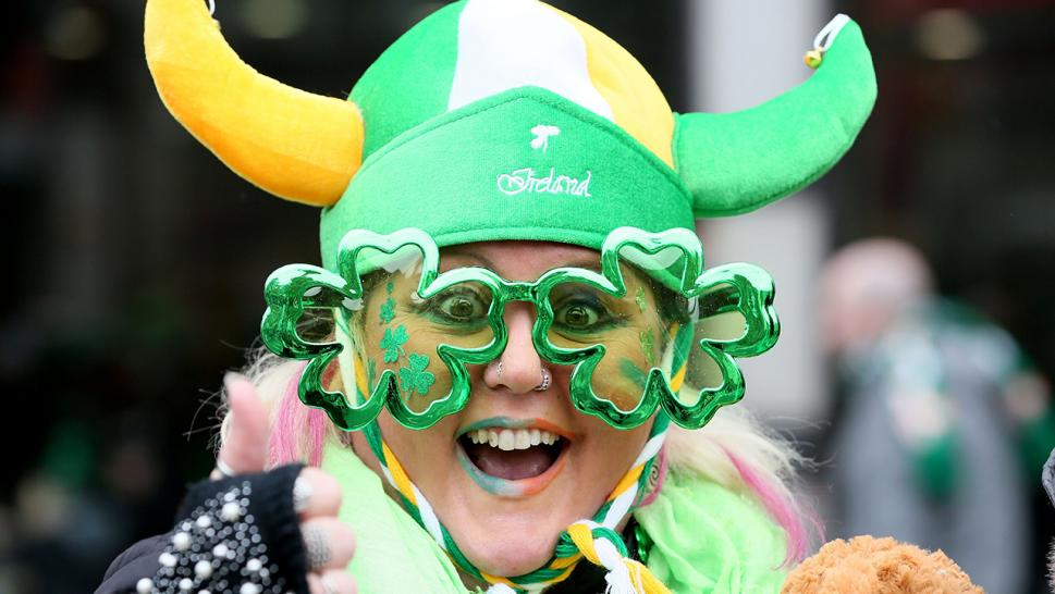 People all over the world celebrate St. Patrick's Day.
