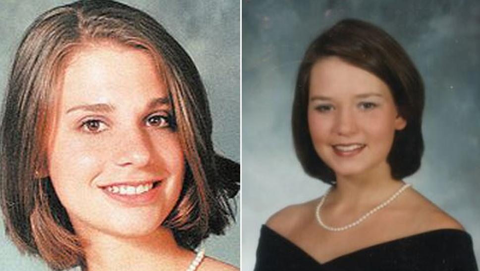 Tracie Howlett, left, and J.B. Beasley, were killed in 1999.