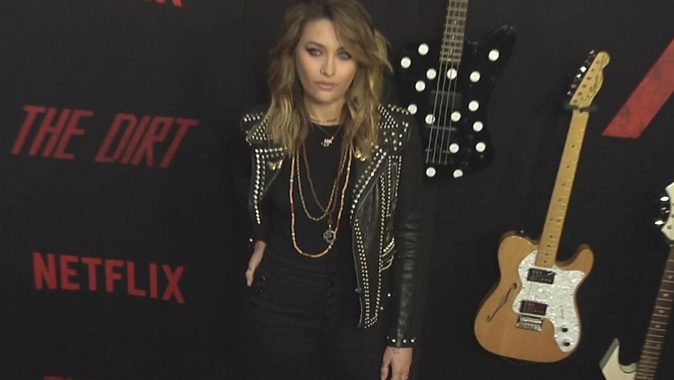 "Paris Jackson and her boyfriend attended the premiere of the Netflix' movie ""The Dirt,"" which is a biopic about Motley Crue."