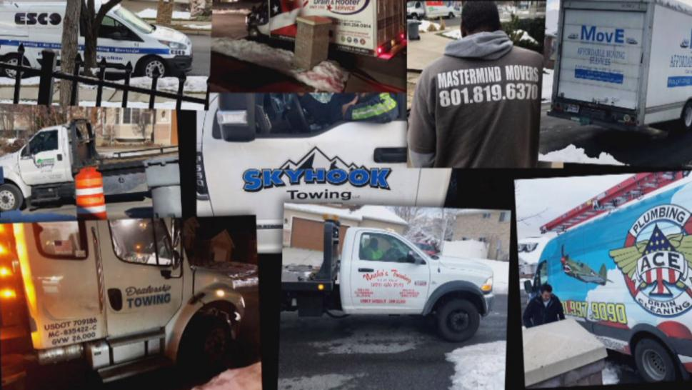 Over the last eight months, 500 vendors have knocked on his door, including house movers, air conditioning services, tow trucks, plumbers, and more.