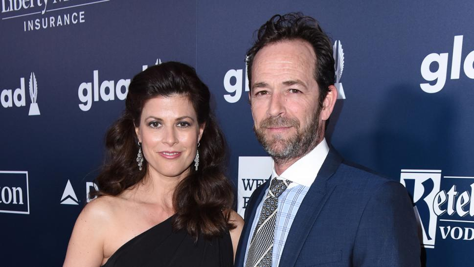 Wendy Madison Bauer was by Luke Perry's side when he died on March 4.