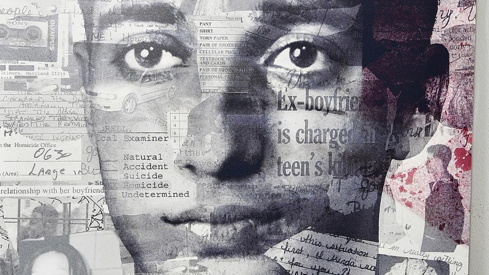 A poster of the HBO series focusing on the case of Adnan Syed.