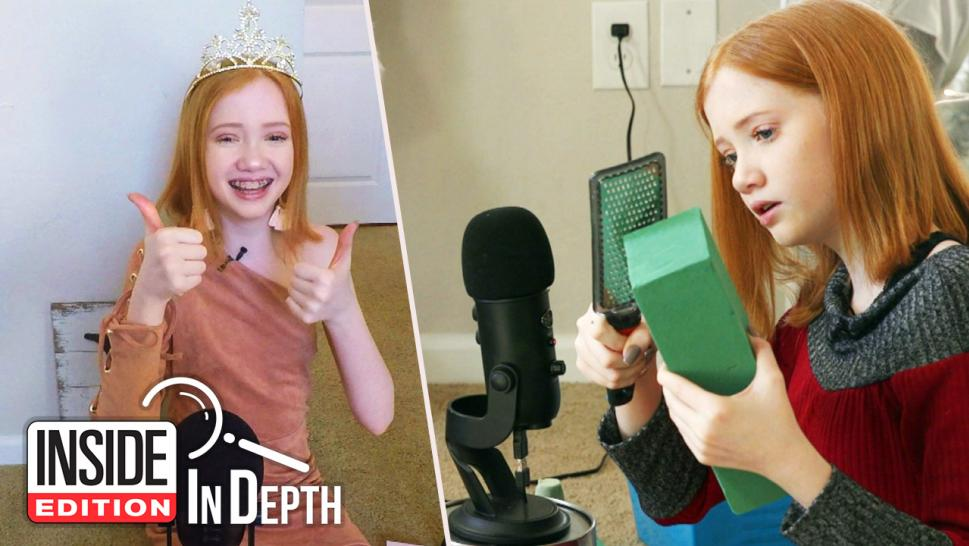 Makenna Kelly is the teen behind the YouTube channel Life with Mak, which produces ASMR videos.