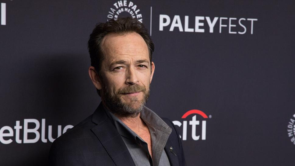Luke Perry is sedated after suffering a stroke Wednesday.