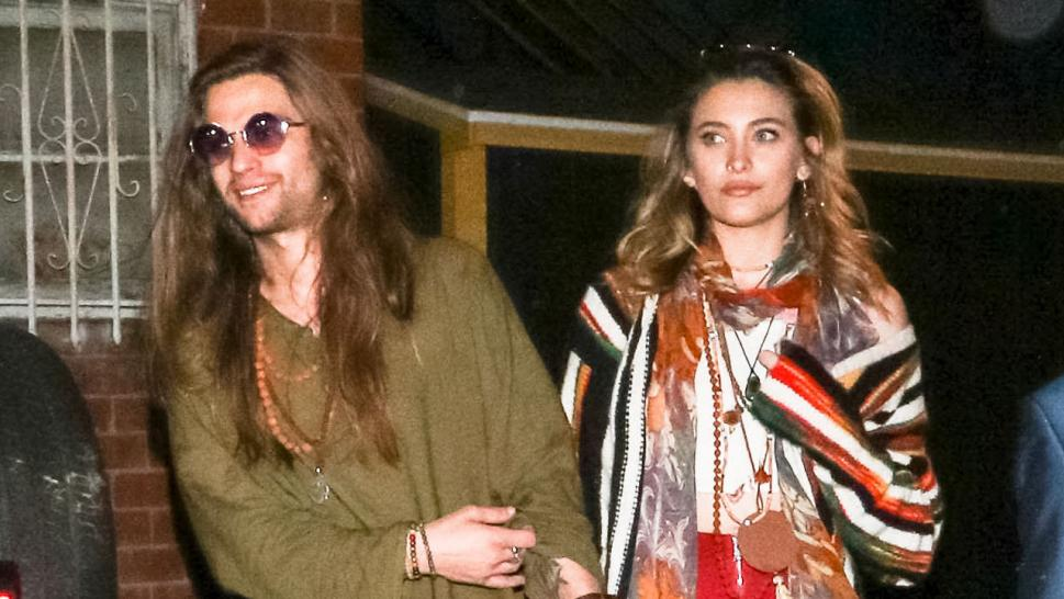 Paris Jackson steps out with her boyfriend