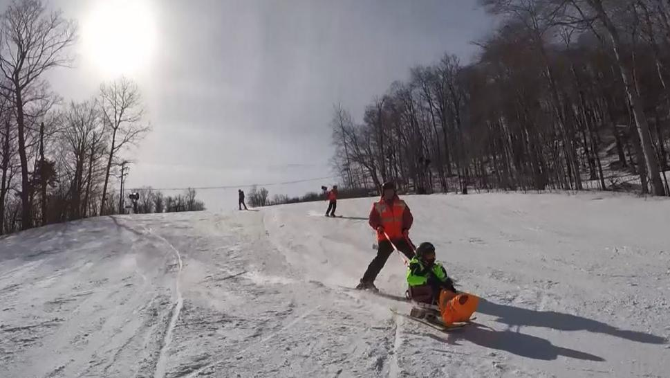 Kids of Courage Conquer Ski Slopes