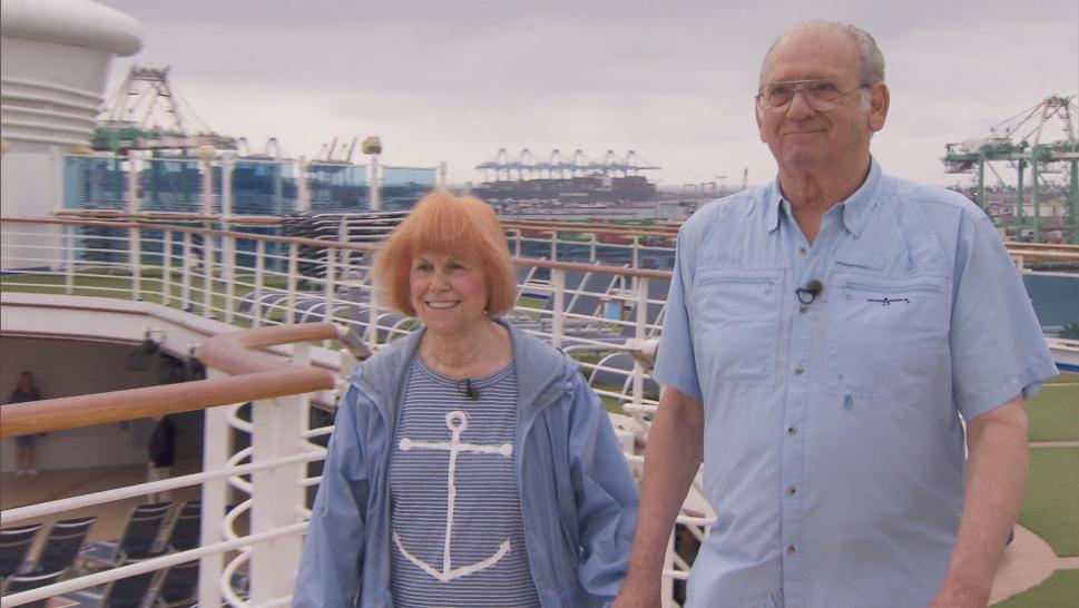 Woman who took 291 cruises