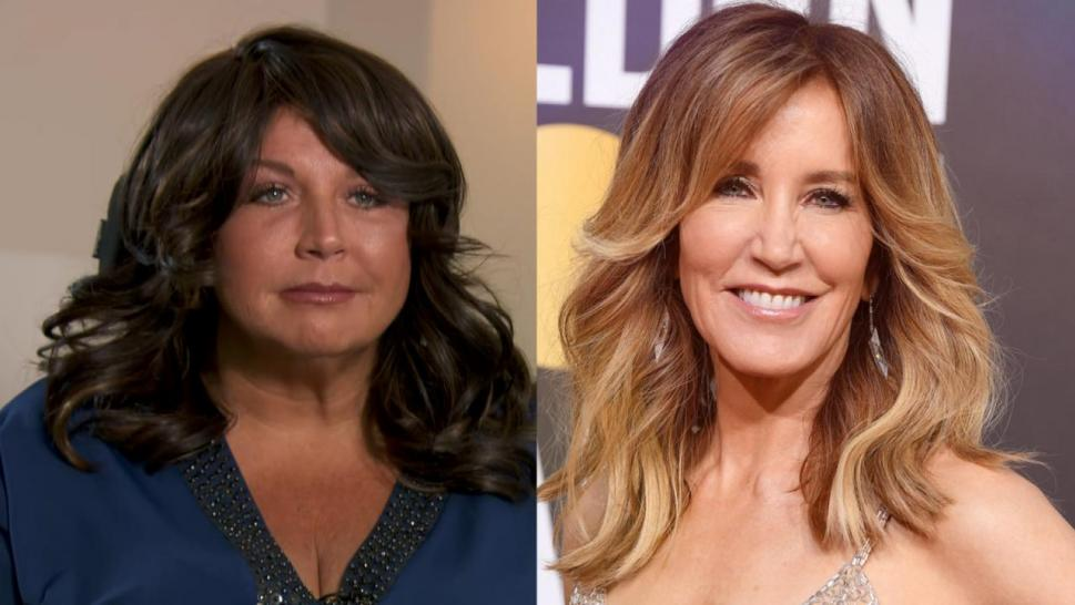 Abby Lee Miller and Felicity Huffman