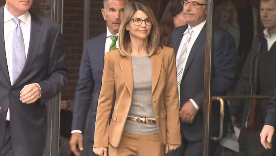 Getty Images Lori Loughlin pleads not guilty in college admissions scam