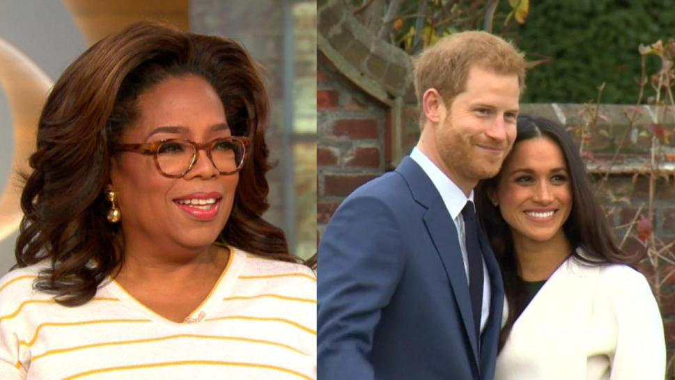 Oprah and the Royals