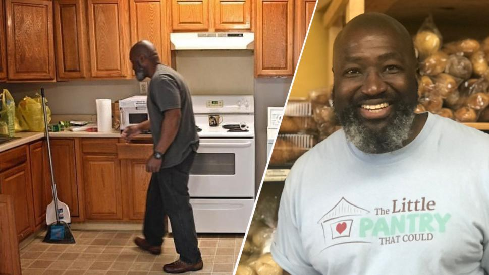Matthew Charles moves in to a new apartment in Nashville