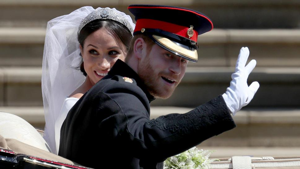 Meghan Markle and Prince Harry wed on May 19, 2018.