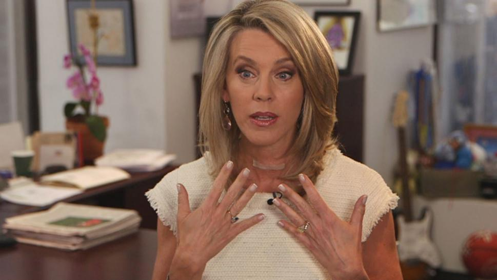 Deborah Norville has returned to Inside Edition after undergoing surgery to remove most of her thyroid following a cancer scare.