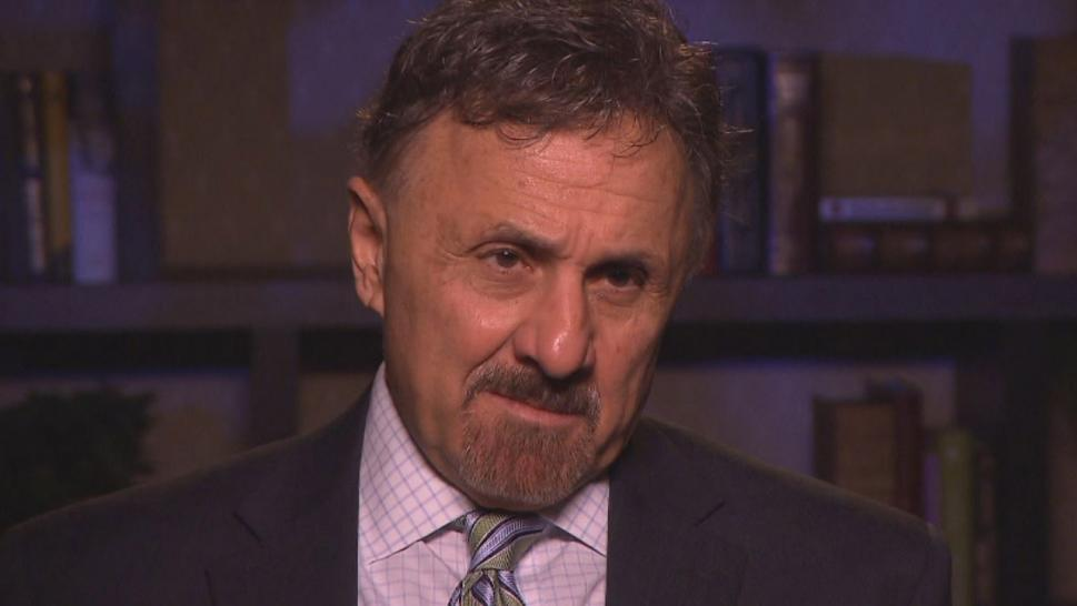 Frank DeAngelis said he draws strength from reciting the names of the 12 students and one teacher killed 20 years ago.