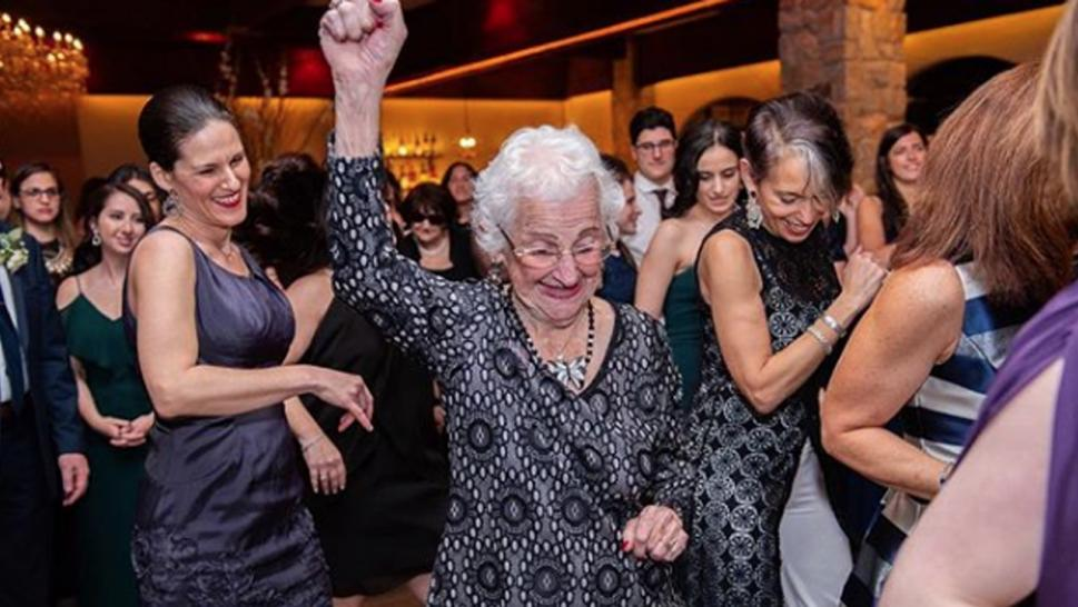 Shirley Goodman is always on the dance floor any chance she gets.