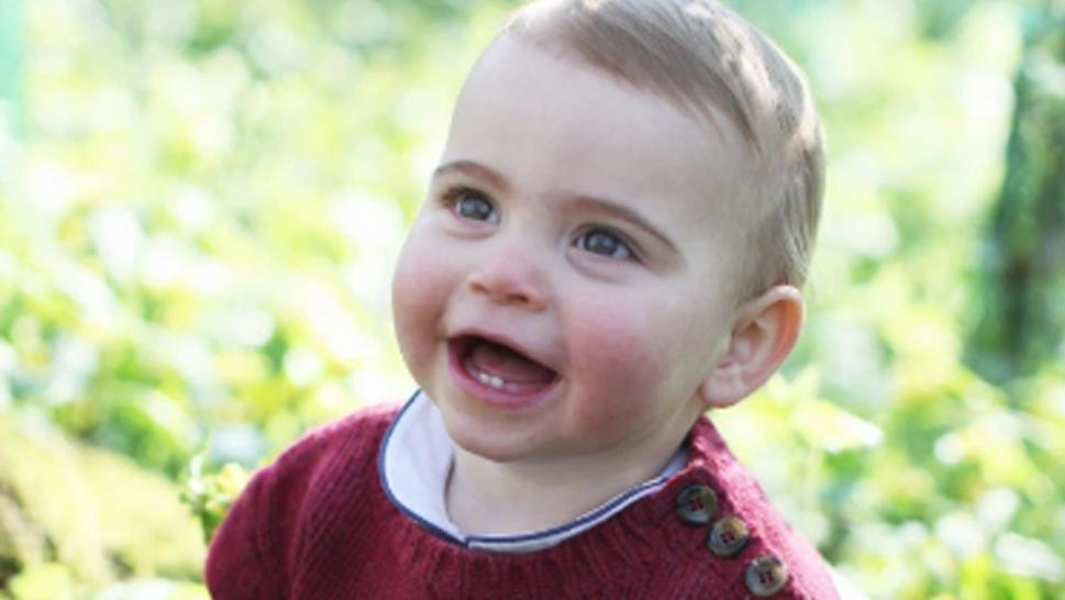 Prince Louis Turns one.