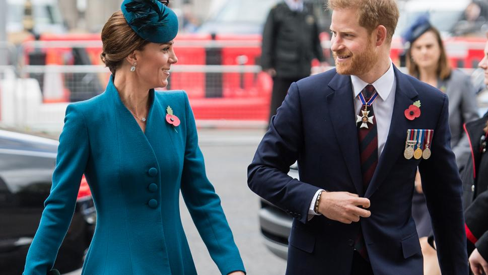 Prince Harry and Kate Middleton teamed up for an Anzac Day ceremony at Westminster Abbey on Thursday.