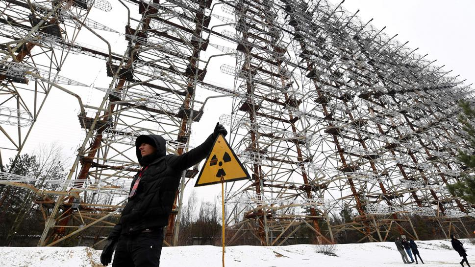The Chernobyl disaster occurred in late April 1986.