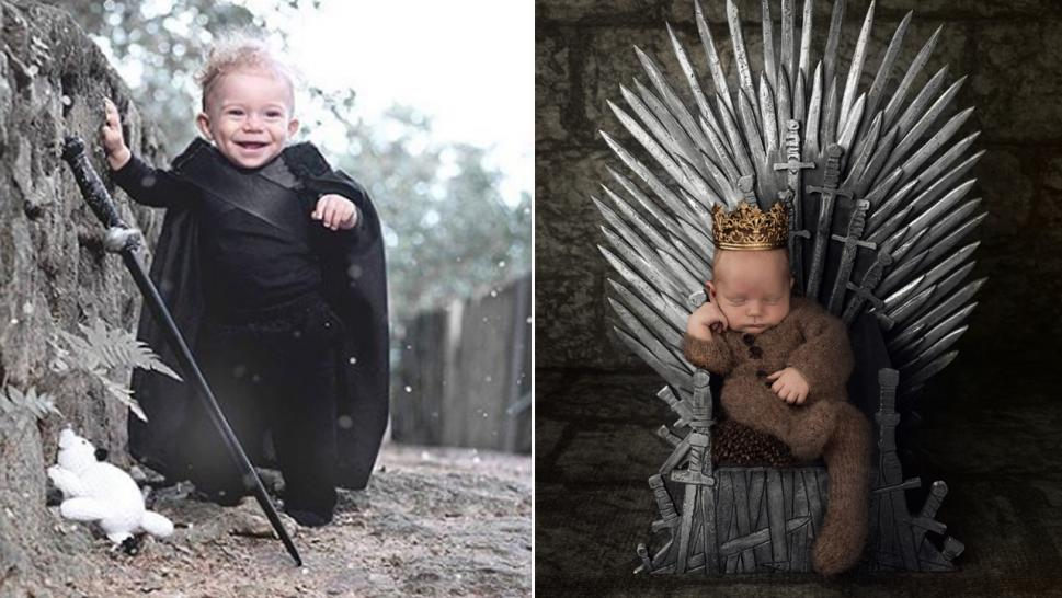 "The babies are in the ""Game of Thrones"" Spirit."
