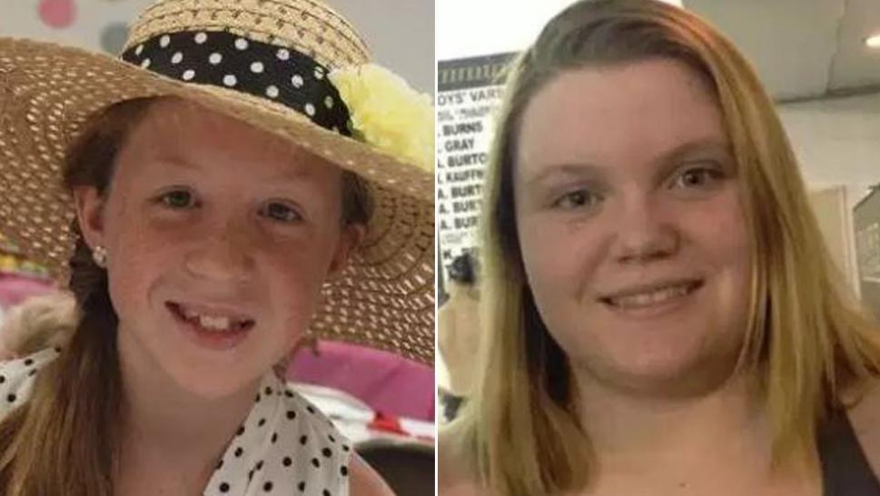 Abby and Libby, two girls killed in Delphi, Indiana, in 2017.
