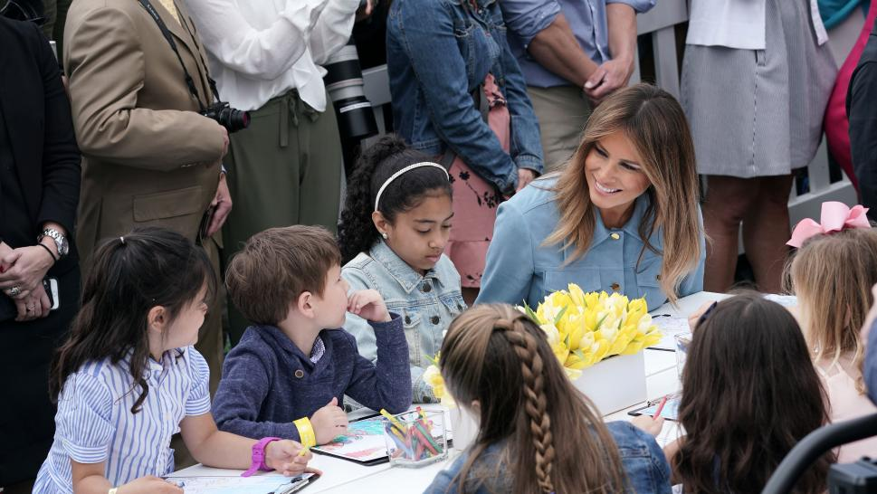 Thousands of Kids Attend Trump's 3rd Easter Egg Roll