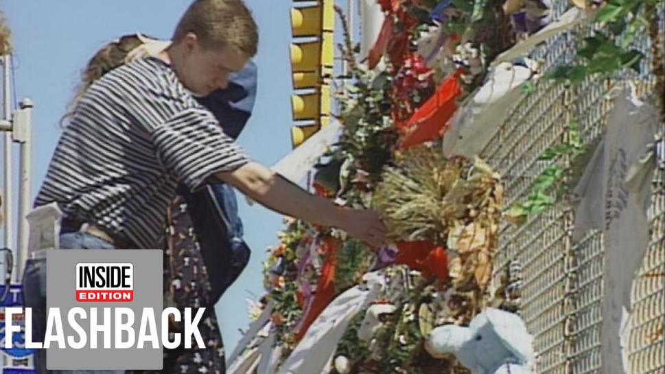 Oklahoma City Bombing mourners