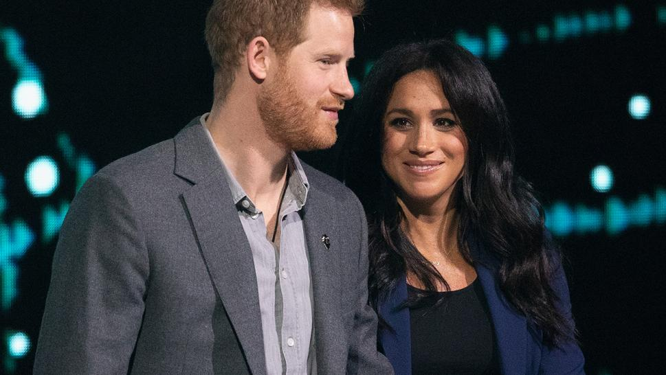Prince Harry and Meghan Markle appear together at We Day U.K. in March.