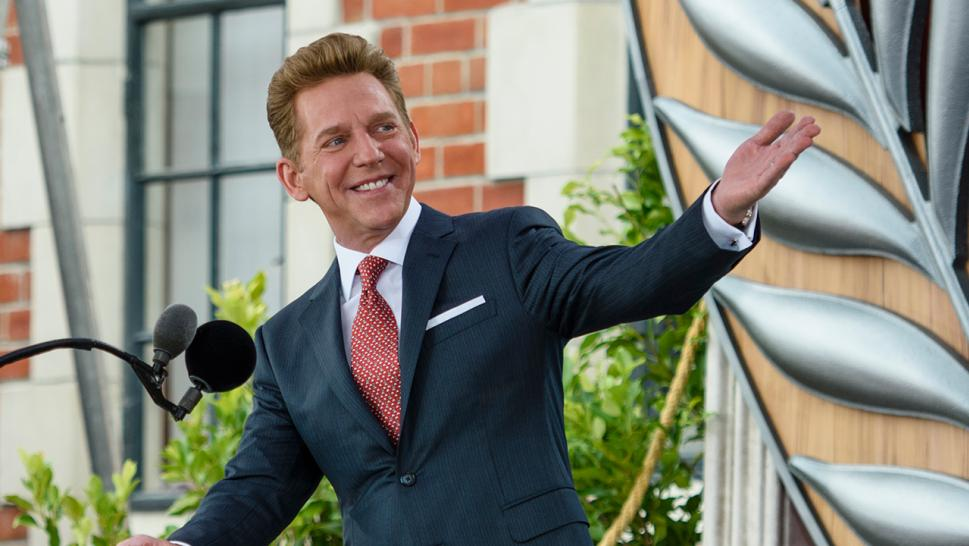 A cruise ship is under quarantine and it's rumored that the Church of Scientology's leader, David Miscavige, is on board.
