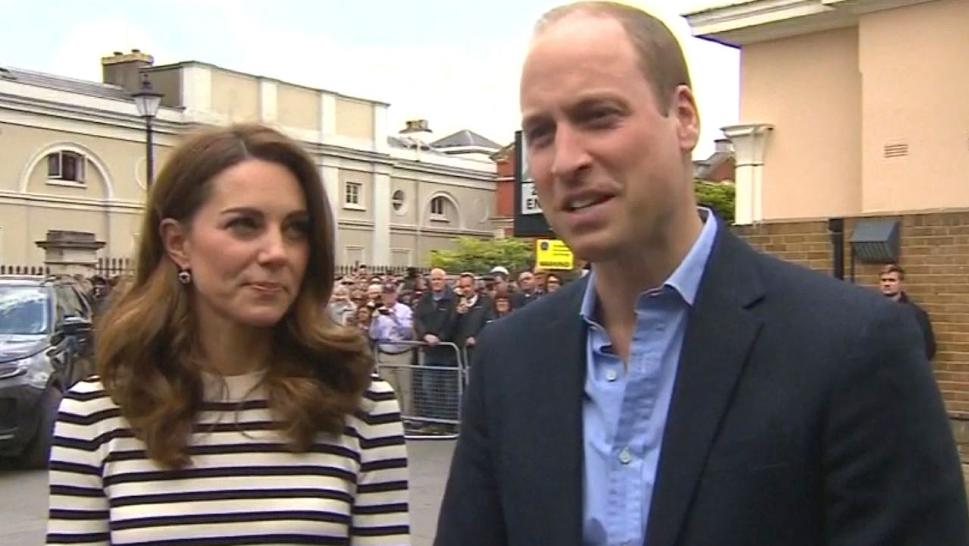 """I'm very pleased and glad to welcome my own brother into the sleep deprivation society that is parenting,"" Prince William joked about the birth of his brother's son."
