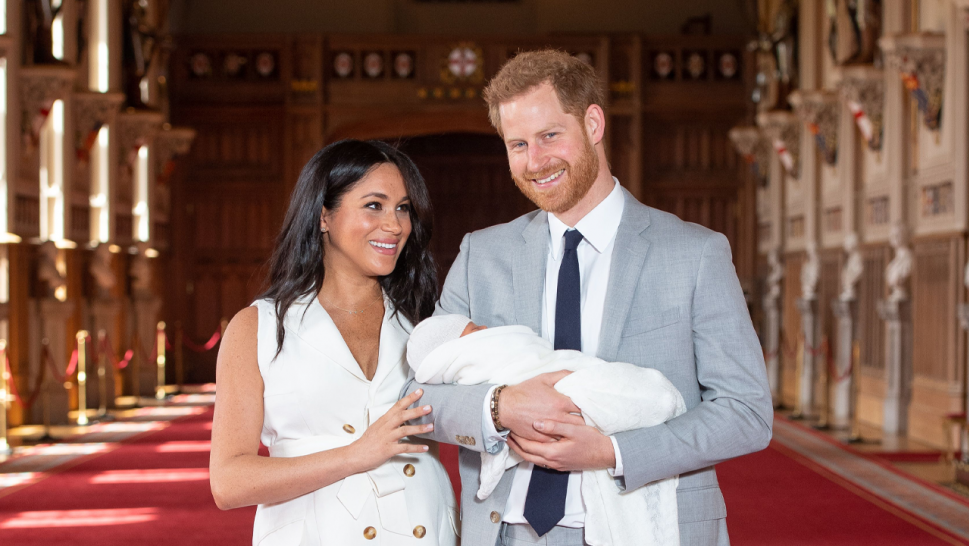 Meghan Markle Shows Off Baby Boy to the World