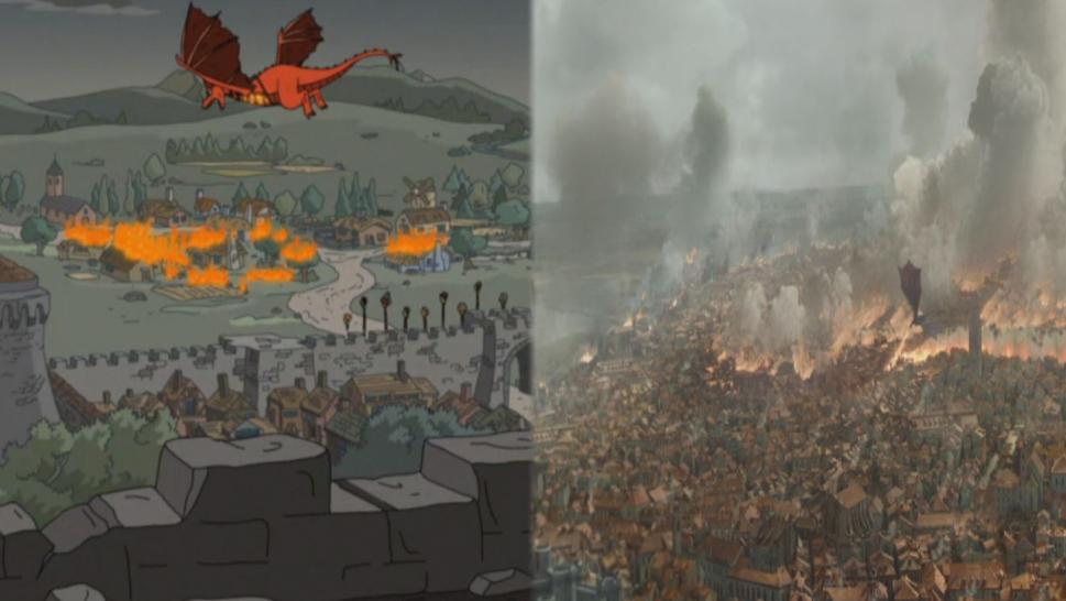Did 'The Simpsons' Predict the Recent Plot Twist in 'Game of Thrones'?