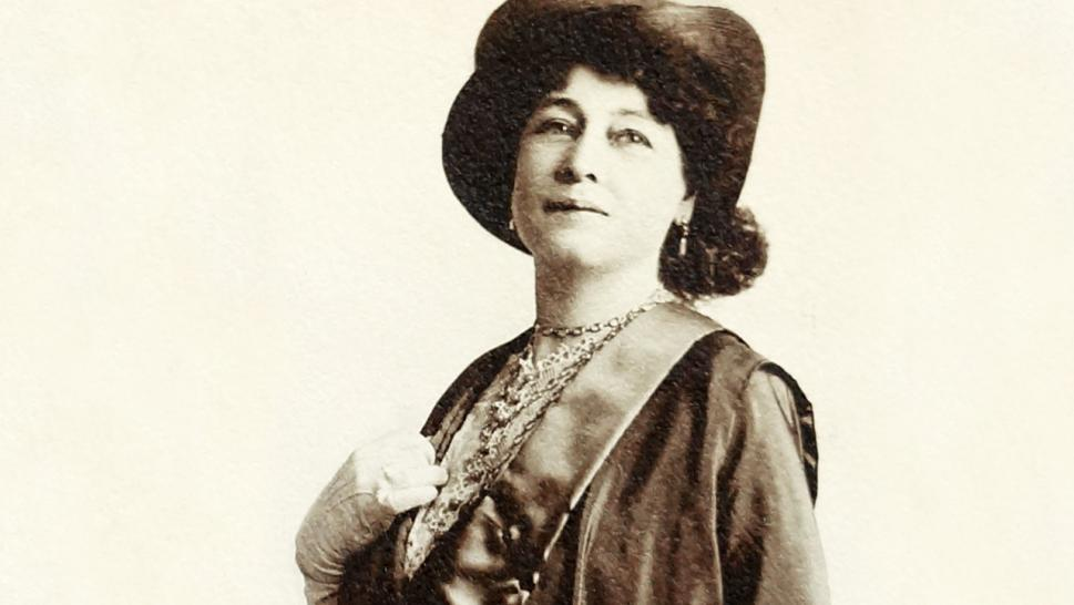 Alice Guy-Blaché may have been the only female filmmaker of her time.