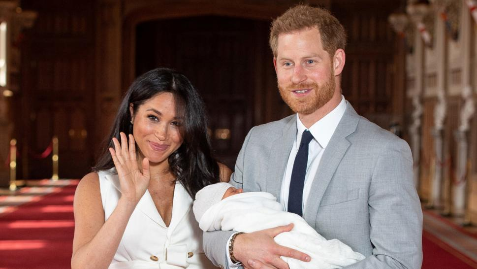 Meghan and Harry introduce baby Archie