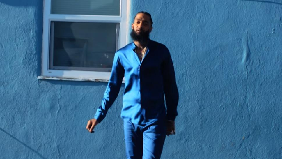 Nipsey was gunned down in March.